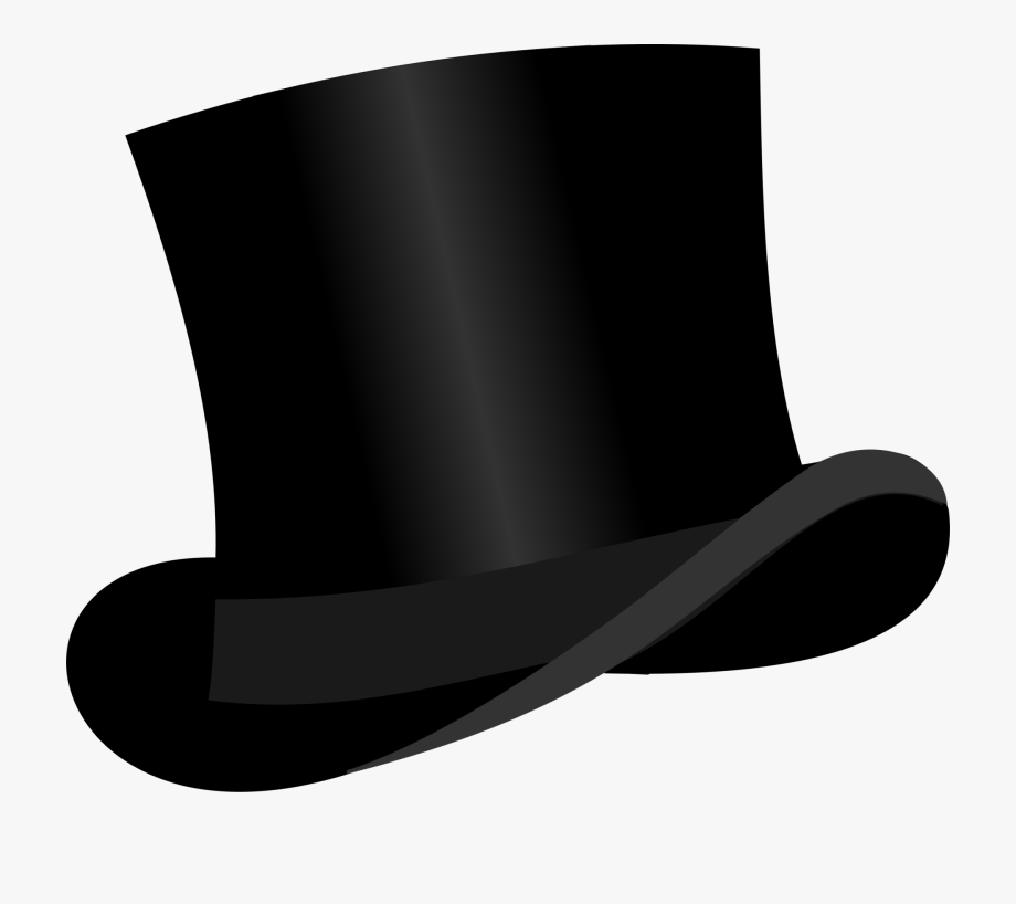 Black top hat clipart clip transparent stock Top Hat - Top Hat Clipart #280908 - Free Cliparts on ClipartWiki clip transparent stock
