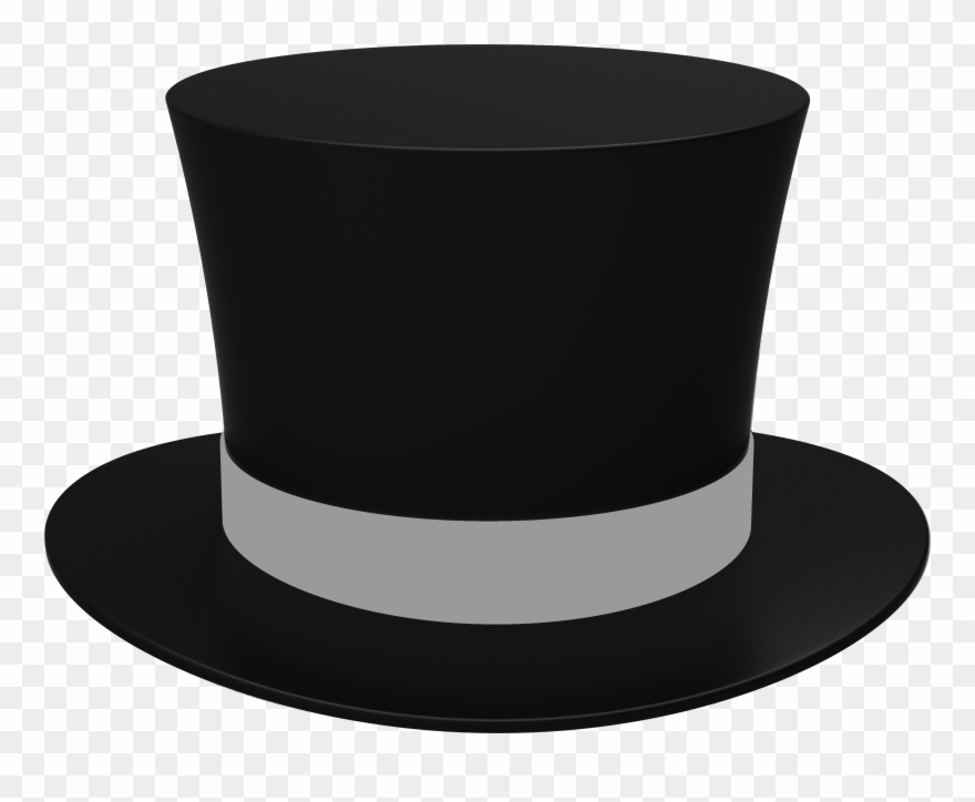 Top hat images clipart graphic transparent stock Png Transparent Images All Topper Image - Top Hat Clipart Black And ... graphic transparent stock