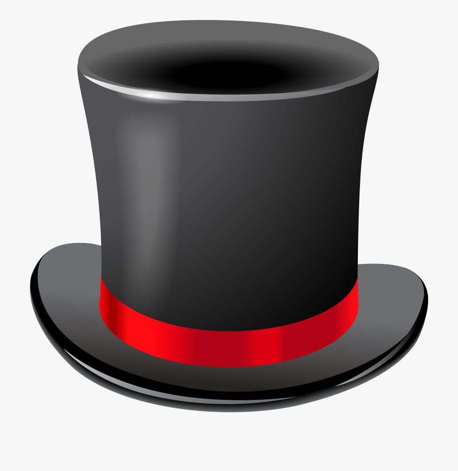 Black top hat clipart vector black and white Black Top Hat Transparent Png Clip Art Imageu200b Gallery - Top Hat ... vector black and white