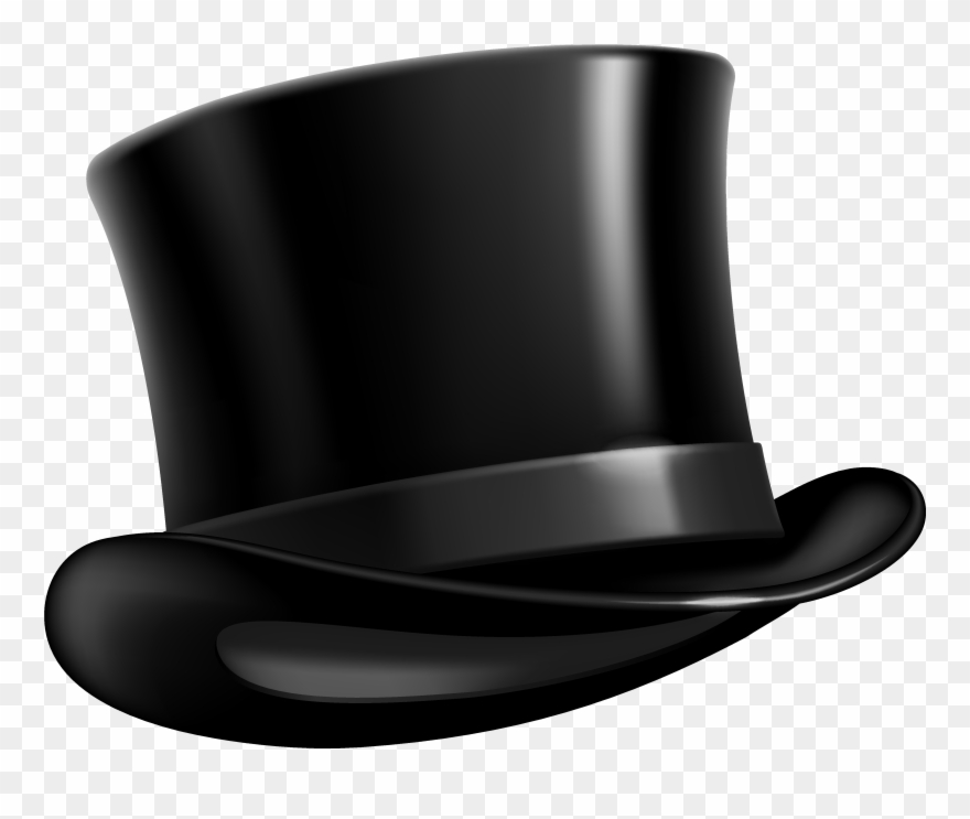 Top hat images clipart image black and white library Gallery Of Kisspng Top Hat Purple Clip Art Pimp Cliparts - Top Hat ... image black and white library