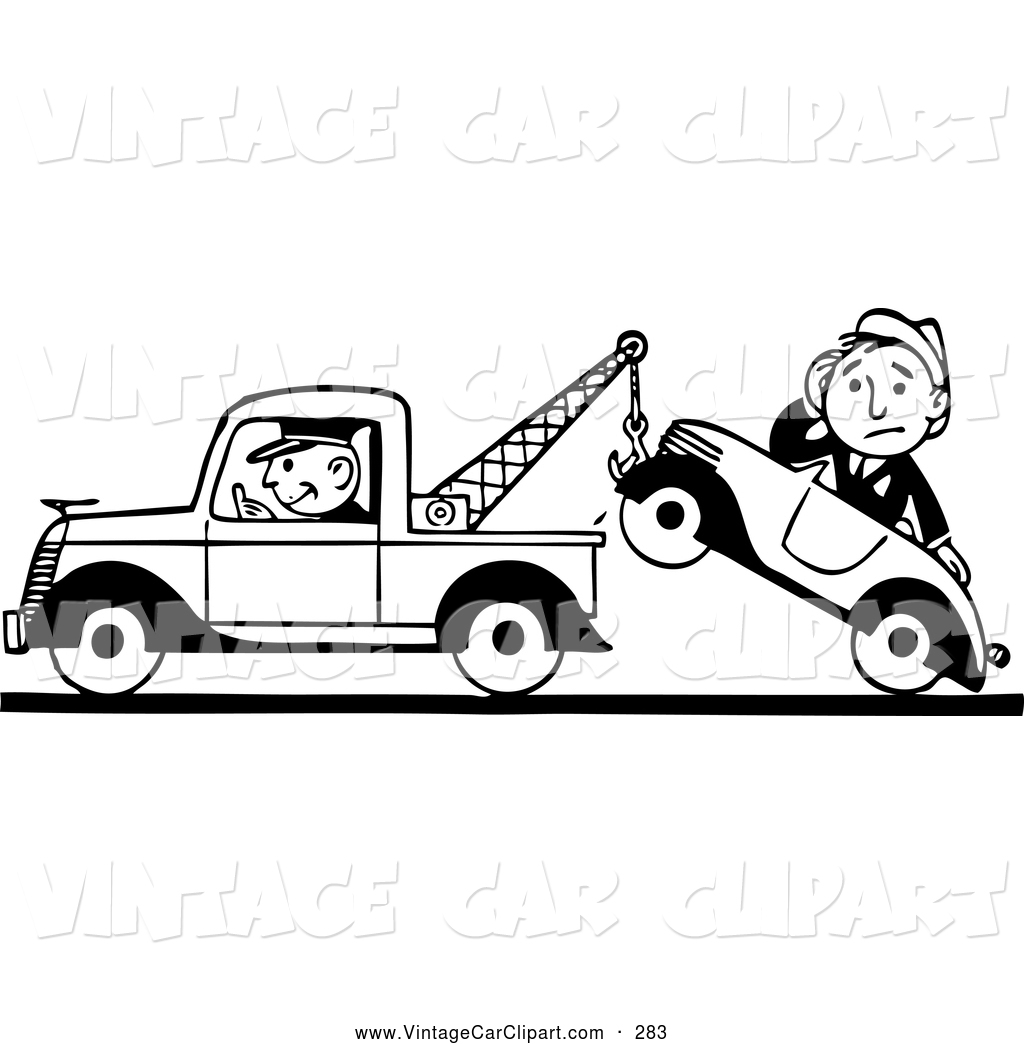 Tow truck clipart black and white clip art freeuse Tow truck clipart black and white 5 » Clipart Station clip art freeuse