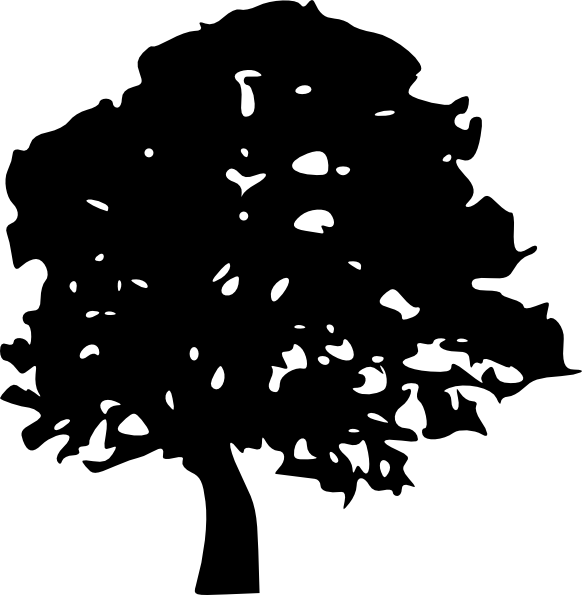 Cedar tree clipart black and white png black and white download 19 black tree clipart. | Clipart Panda - Free Clipart Images png black and white download
