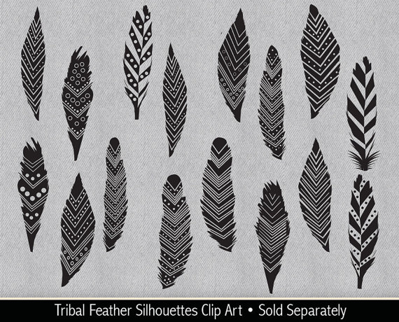 Black tribal arrow silhouette clipart clip art royalty free library Tribal Arrow Silhouettes Clipart Native American by VizualStorm clip art royalty free library