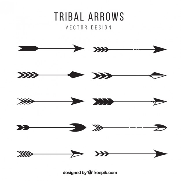 Black tribal arrow silhouette clipart transparent Black tribal arrow silhouette clipart - ClipartFest transparent