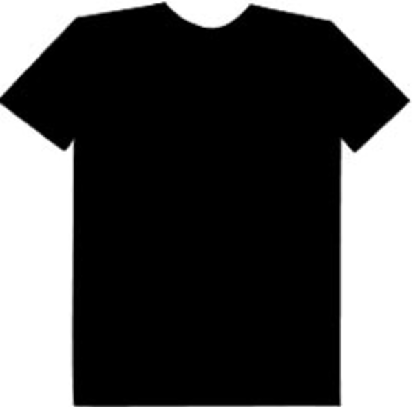 Black tshirt clipart pics png banner transparent download Blank Tshirt Clipart | Free download best Blank Tshirt Clipart on ... banner transparent download