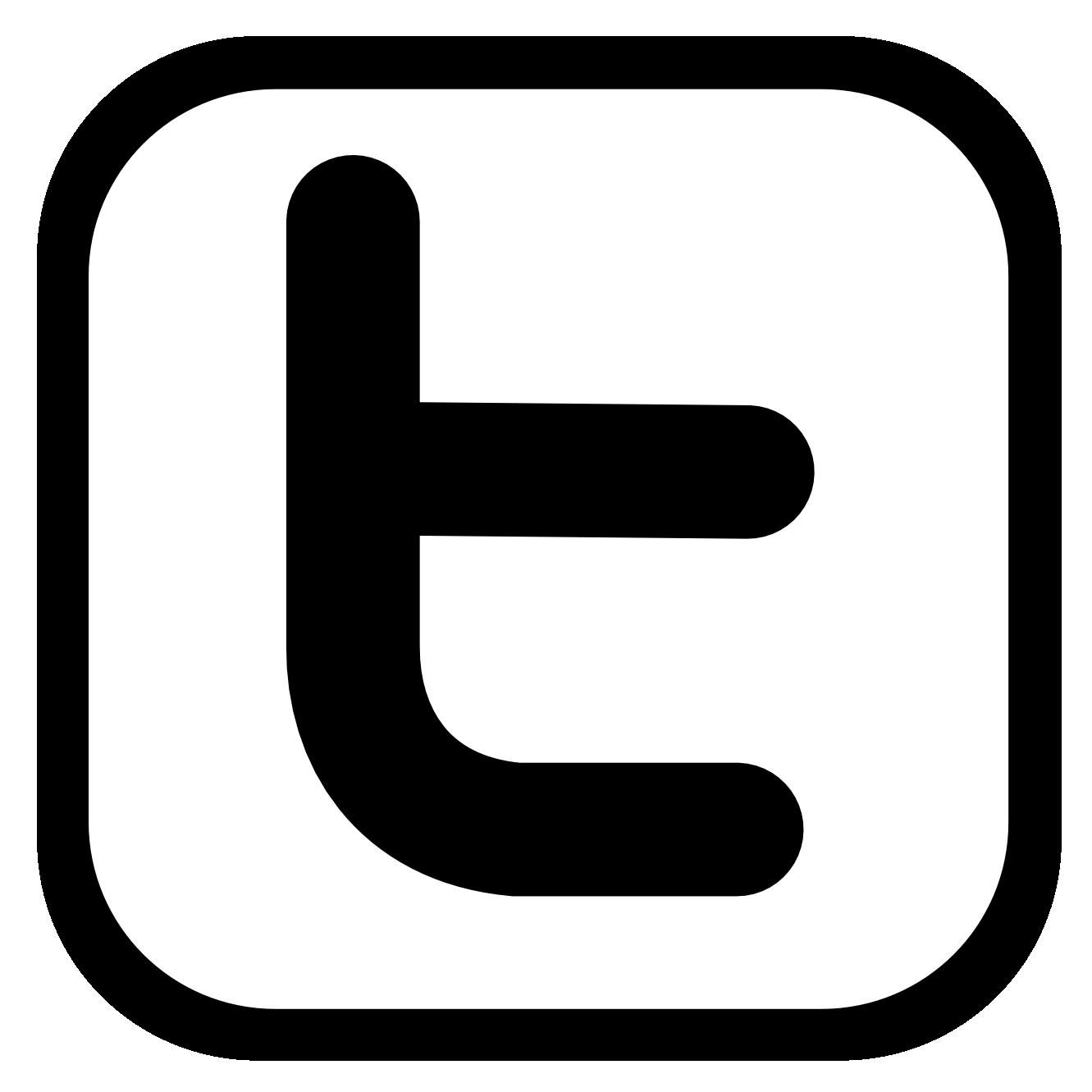 Black twitter clipart banner black and white library White twitter clipart - ClipartFest banner black and white library