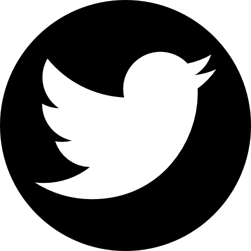 Black twitter logo clipart free Twitter logo Icons   Free Download free