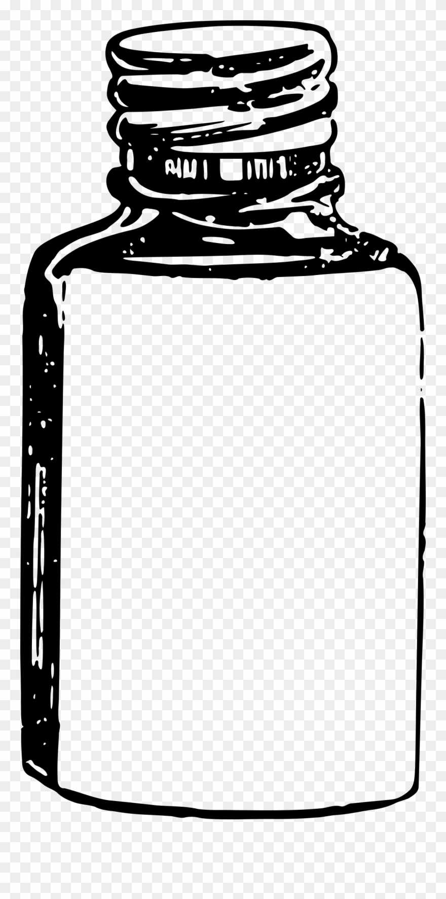 Black vector clipart medicine png clip black and white stock Pill - Bottle Medicine Vector Png Clipart (#259099) - PinClipart clip black and white stock