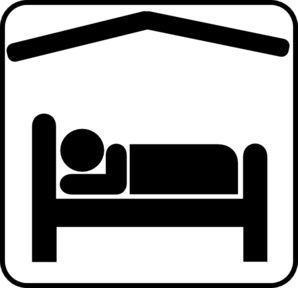 Black vector clipart sleep png clip art royalty free download Hotel Motel Sleeping Accomodation Clip Art - Black/white Clip Art at ... clip art royalty free download