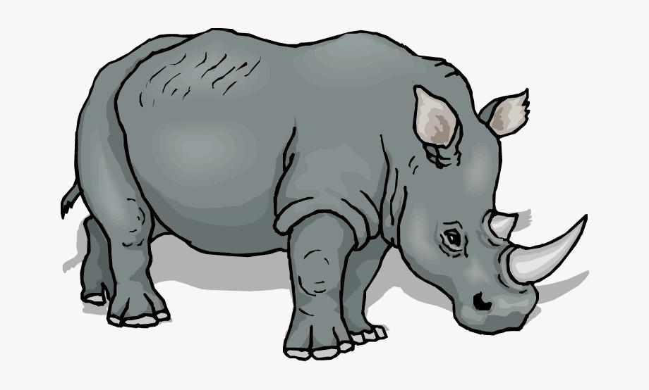 Black vs white rhino clipart picture library Free Rhino Clipart - Rhino Clipart , Transparent Cartoon, Free ... picture library