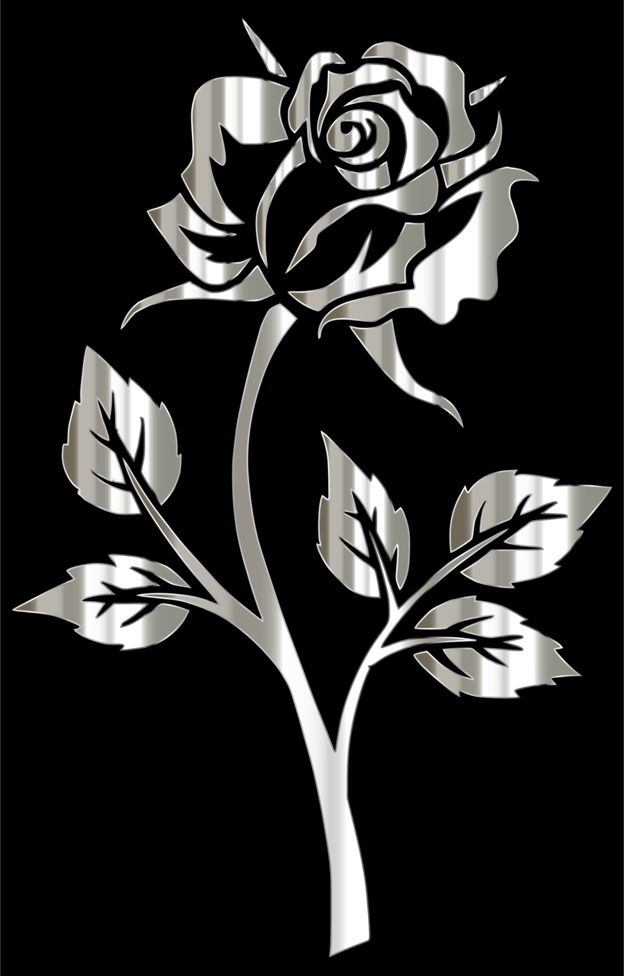 Black wallpaper clipart clip library download Black And White Flower clipart - Color, Black, Video, transparent ... clip library download