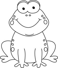 Black white clip art vector library download Frog Black And White Clipart - Clipart Kid vector library download
