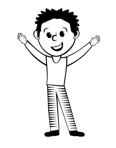 Black white clip art clip art library download Black And White Of Man Painting Clipart - Clipart Kid clip art library download