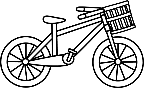 Bw bike clipart clipart free download 58+ Bicycle Clipart Black And White | ClipartLook clipart free download