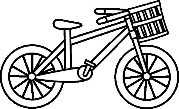 Black & white clipart bicicle clip art transparent stock 58+ Bicycle Clipart Black And White | ClipartLook clip art transparent stock