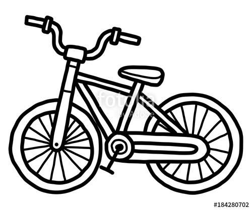 Black & white clipart bicicle png Clipart bicycle black and white 5 » Clipart Portal png