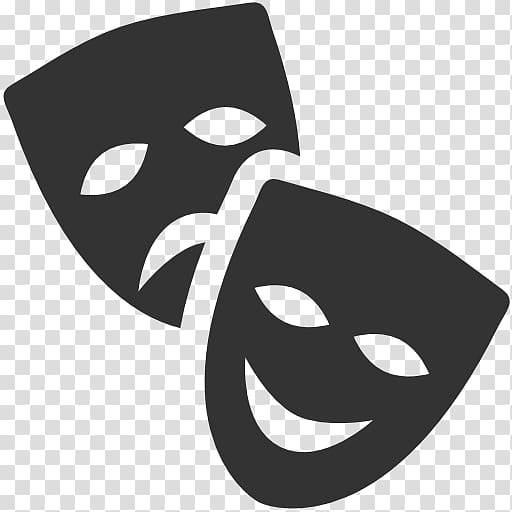 Black white clipart cross out mask graphic library library Two theater masks, Theatre of Ancient Greece Mask Cinema , Theatre ... graphic library library