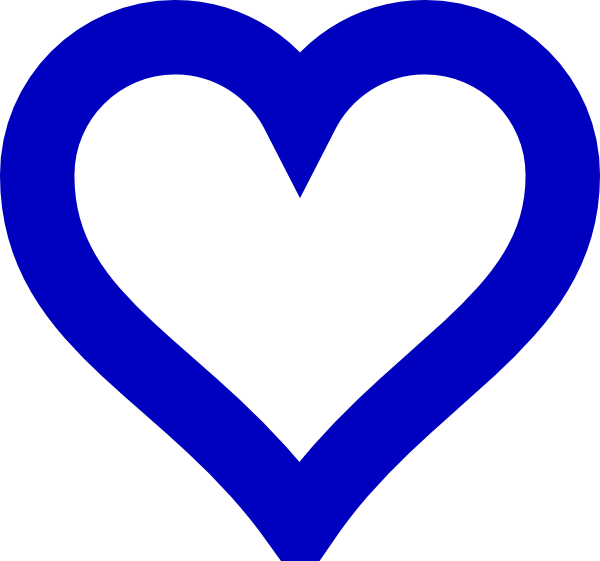 Black white clipart of open hearts png black and white stock Blue Swirl Heart Clipart - Clipart Kid png black and white stock