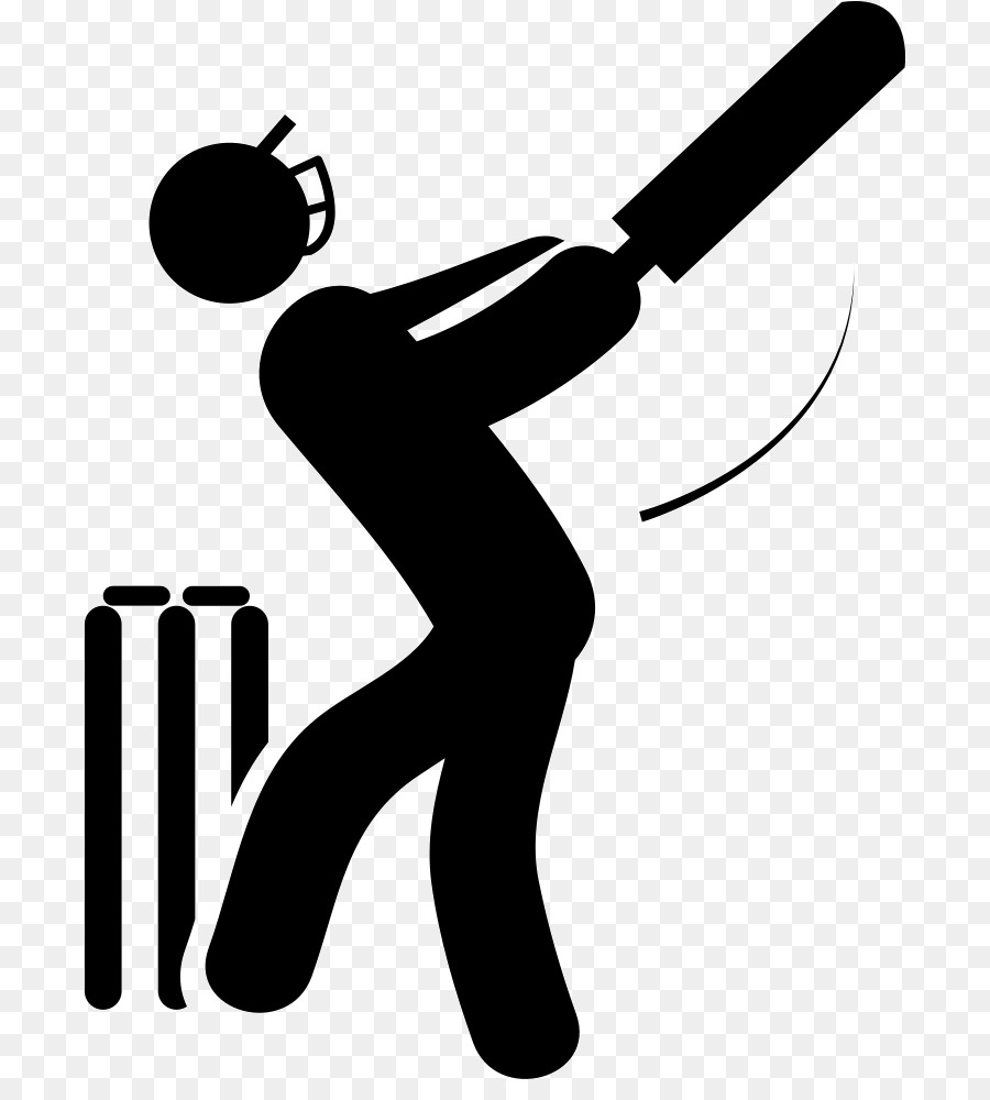 Black white clipart of outdoor clip transparent library India National Cricket Team clipart - Cricket, Black, Silhouette ... clip transparent library