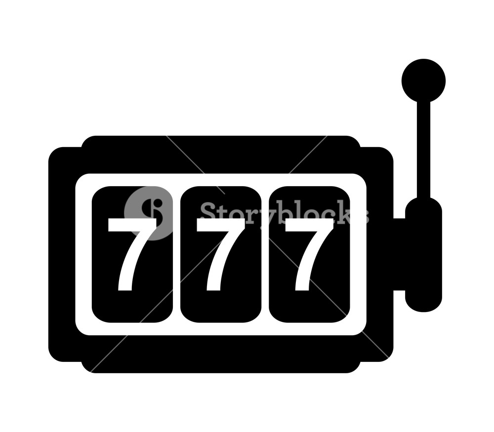 Black white clipart slot machine image free stock slot machine icon on white background Royalty-Free Stock Image ... image free stock