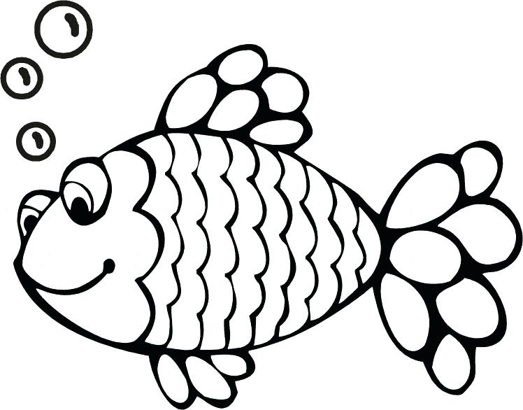 Black & white fishing clipart png library Black And White Fish Drawing | Free download best Black And White ... png library