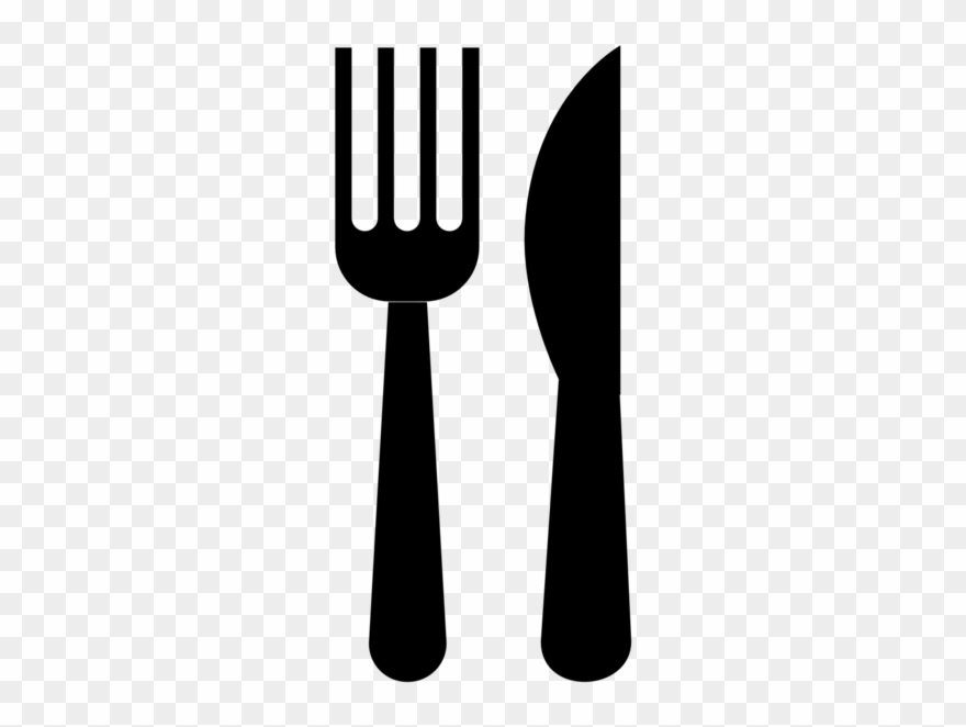 Knife and fork clipart clipart royalty free download Knife And Fork Clip Art - Fork And Knife Clipart Black And White ... clipart royalty free download