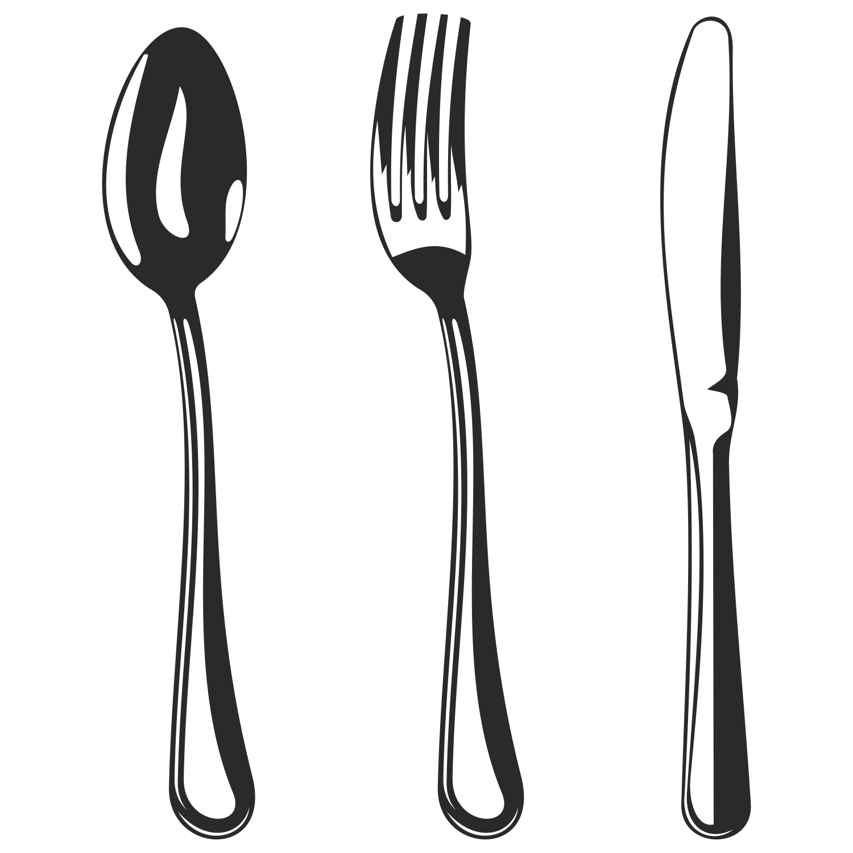 Fancy fork clipart jpg freeuse download Free Fork And Knife, Download Free Clip Art, Free Clip Art on ... jpg freeuse download