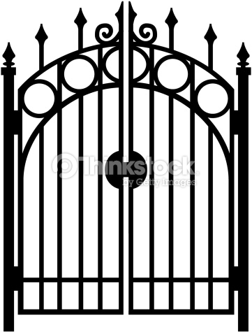 Black & white gate clipart banner download Gate clipart black and white 3 » Clipart Station banner download