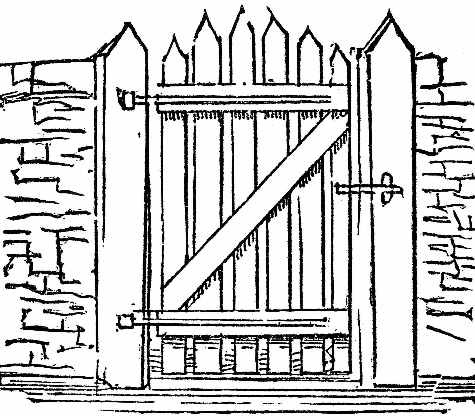 Black & white gate clipart graphic stock Free Gate Clipart Black And White, Download Free Clip Art, Free Clip ... graphic stock