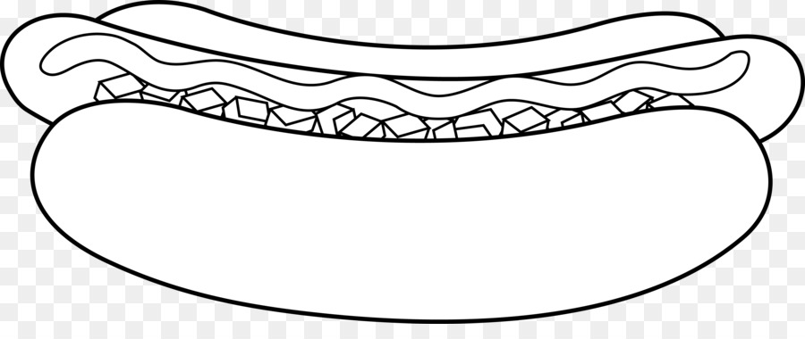 Black & white hot dog clipart png banner transparent stock Mouth Cartoon png download - 7887*3179 - Free Transparent Hot Dog ... banner transparent stock
