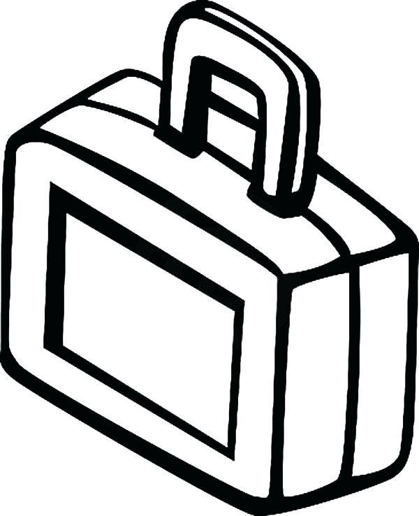 Black white lunch box clipart clip art free library Lunch box clipart black and white 1 » Clipart Portal clip art free library