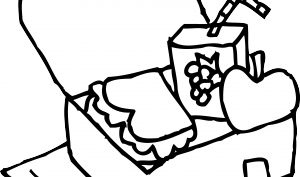 Black white lunch box clipart picture royalty free library Lunch Box Clipart Black And White | Clipart Panda - Free Clipart Images picture royalty free library