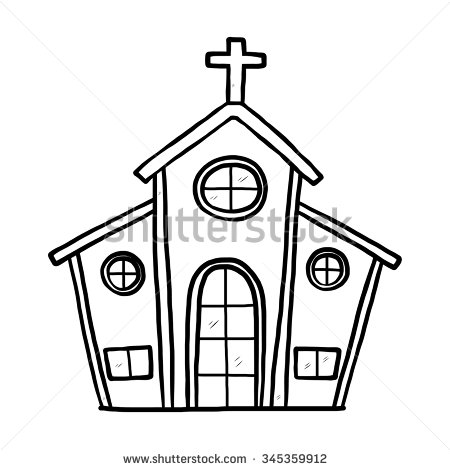 Church black and white clipart graphic royalty free library Church clipart black and white 4 » Clipart Station graphic royalty free library