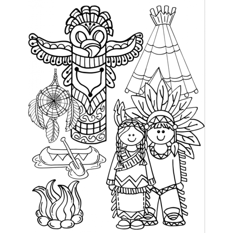 Black & white thanksgiving clipart png transparent library 28+ Collection of Thanksgiving Indian Clipart Black And White | High ... png transparent library