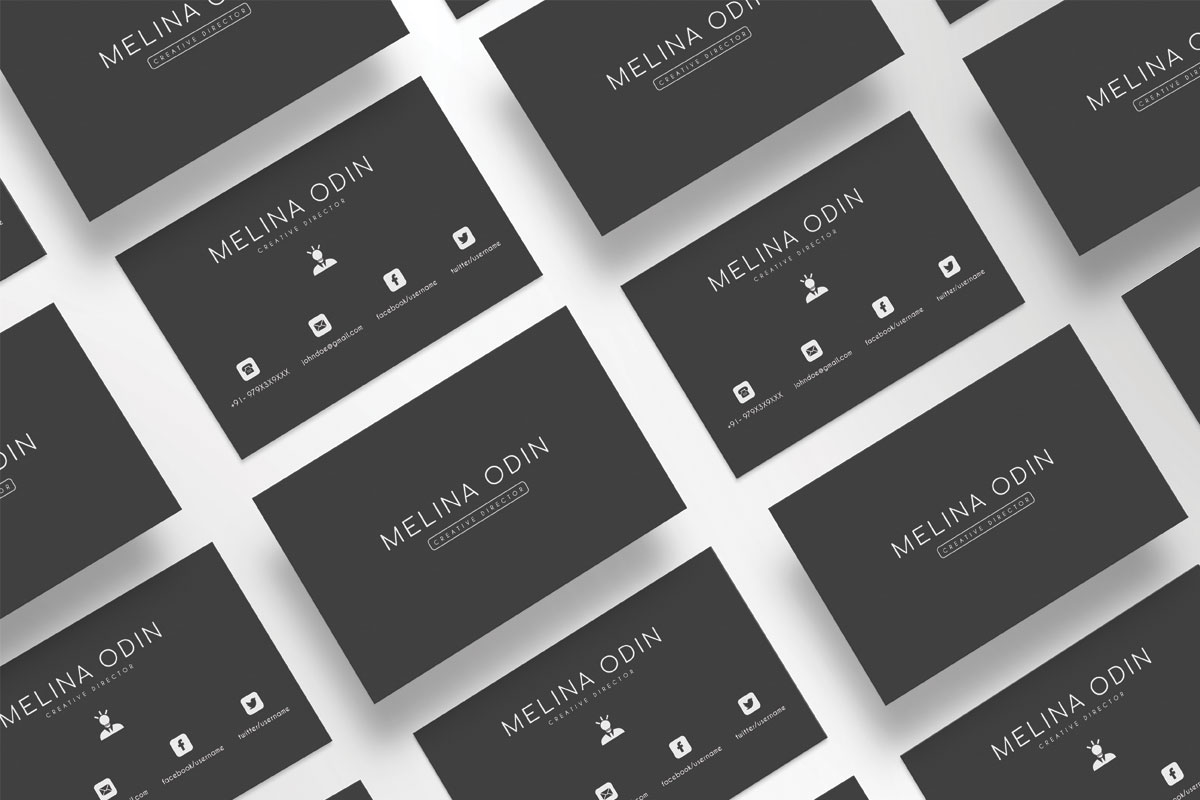 Black white wide stripe business card clipart downloads clip freeuse stock 200 Free Business Cards PSD Templates - Creativetacos clip freeuse stock