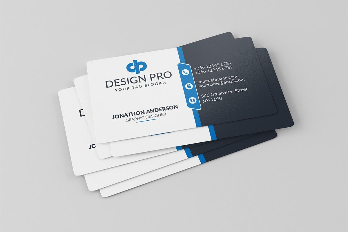 Black white wide stripe business card clipart downloads clip transparent stock 200 Free Business Cards PSD Templates - Creativetacos clip transparent stock