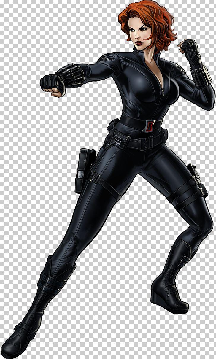 Black widow clipart transparent library Black Widow Marvel: Avengers Alliance Clint Barton Falcon Captain ... transparent library