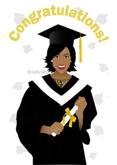 Black womangraduate sitting on the world clipart stock 34 Best CONGRATULATIONS! images in 2019 | Drawings, Black art, Black ... stock