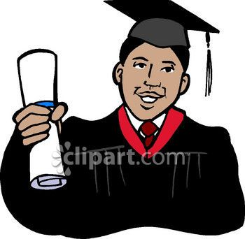 Black womangraduate sitting on the world clipart banner freeuse Black College Graduates with Afros | African American Graduate Clip ... banner freeuse