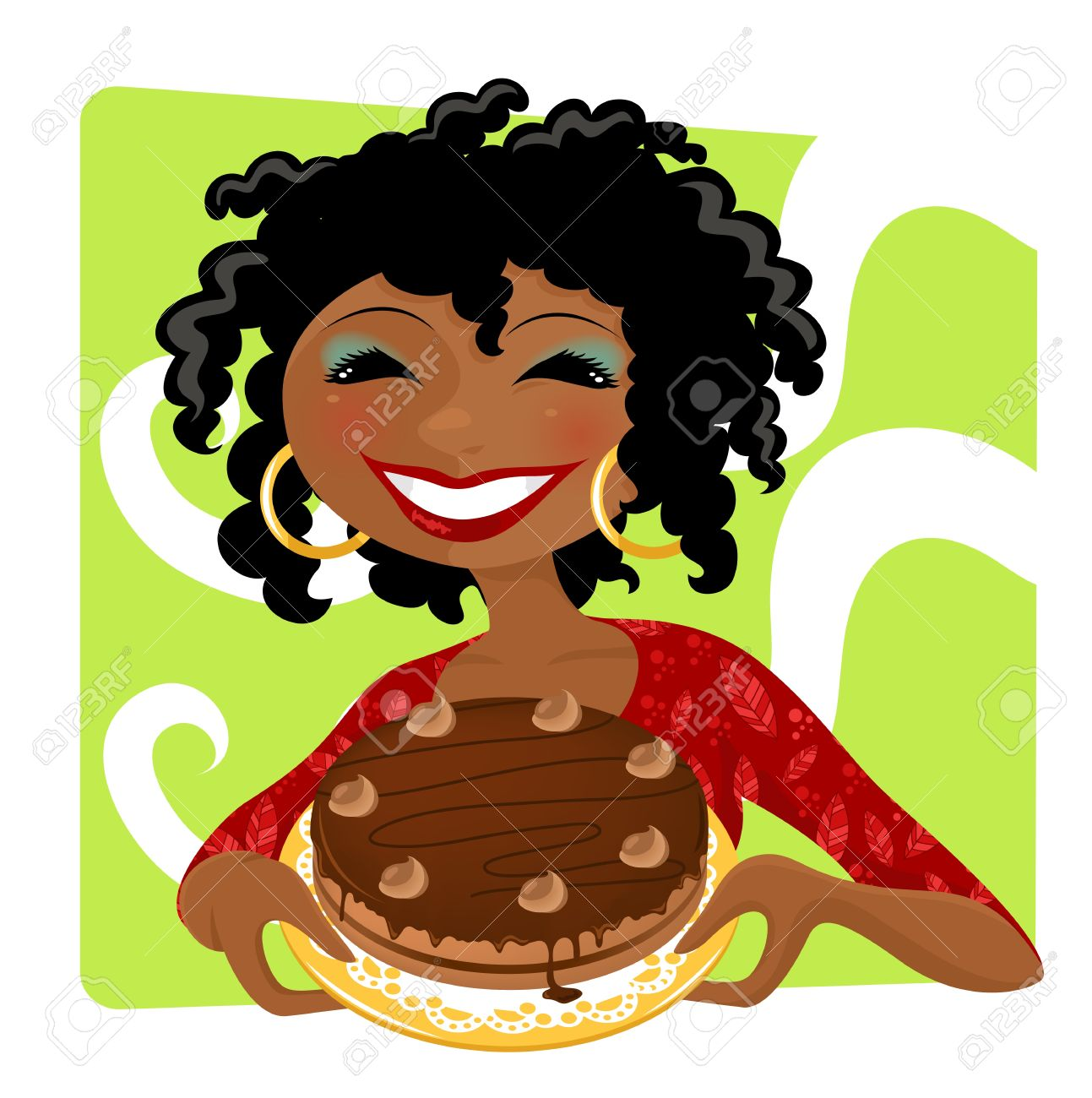 Black women afro puff chef clipart svg library Collection of Afro clipart | Free download best Afro clipart on ... svg library