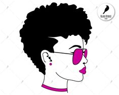 Black women afro puff chef clipart freeuse download 9 Best African American SVGs images in 2019 | Afro, Black women ... freeuse download