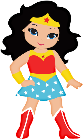 Cute girl superhero clipart picture freeuse stock Free Wonder Woman Cliparts, Download Free Clip Art, Free Clip Art on ... picture freeuse stock