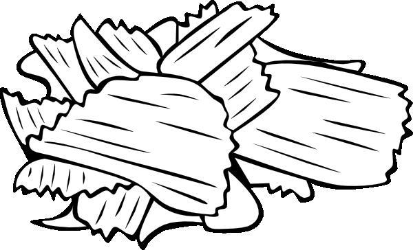 Black wood chips clipart png svg library download Potato Chips Clip Art at Clker.com - vector clip art online, royalty ... svg library download