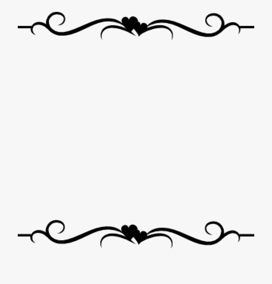 Black and white word clipart clip black and white Anniversary Clip Art Borders Word Clip Art Wedding - New Border ... clip black and white
