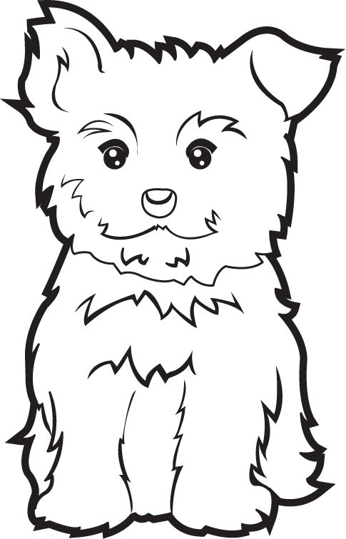 Black yorkie birthday clipart png download Free Yorkie Cliparts, Download Free Clip Art, Free Clip Art on ... png download