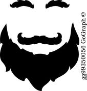 Blackbeard clipart jpg free stock Black Beard Clip Art - Royalty Free - GoGraph jpg free stock