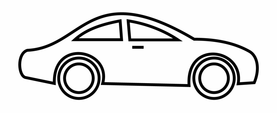 Blackcar clipart jpg free Car Clipart Black And White Png Transparent - Black And White Car ... jpg free