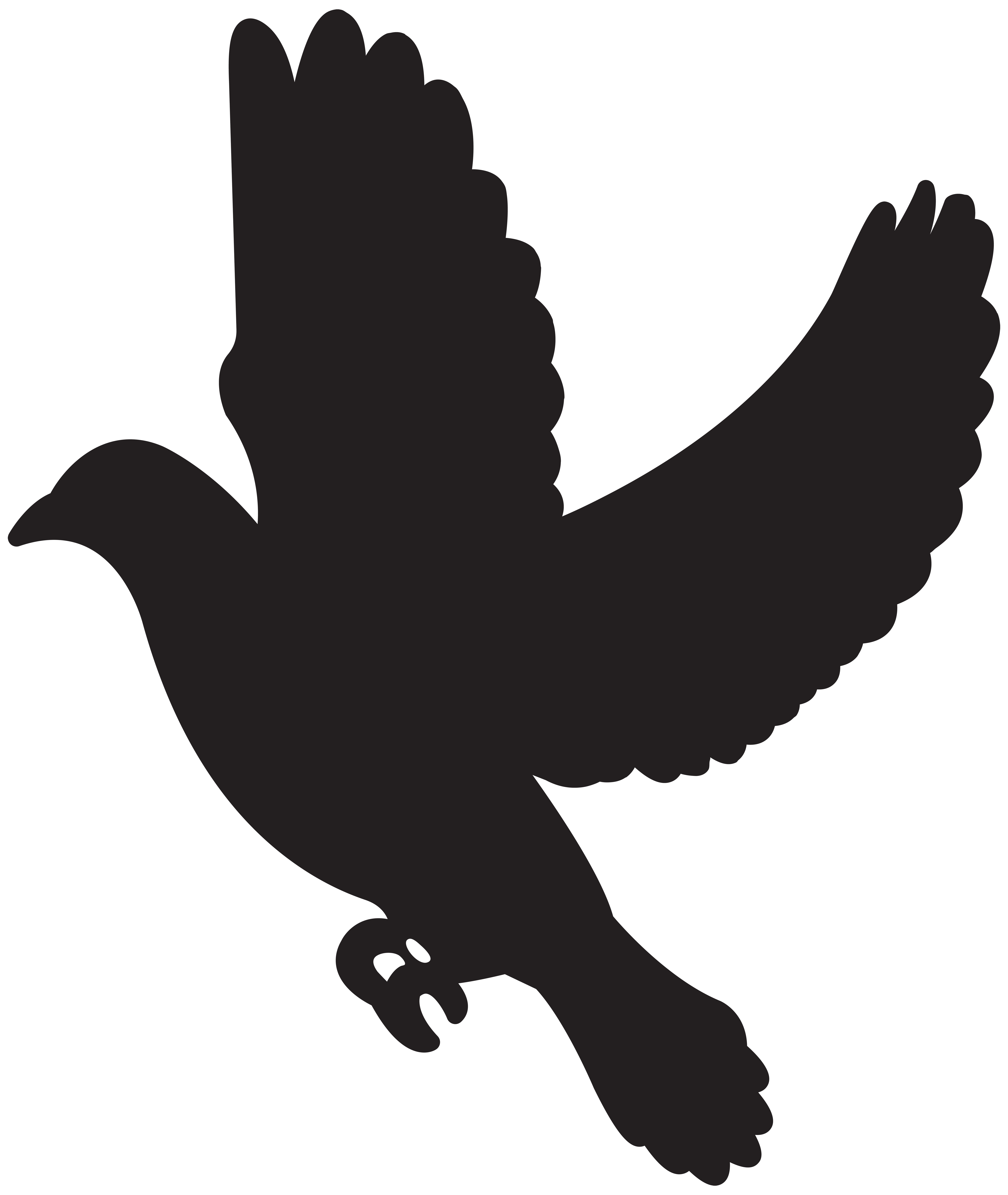 Blackline clipart cross and dove banner Flying Dove Silhouette at GetDrawings.com | Free for personal use ... banner