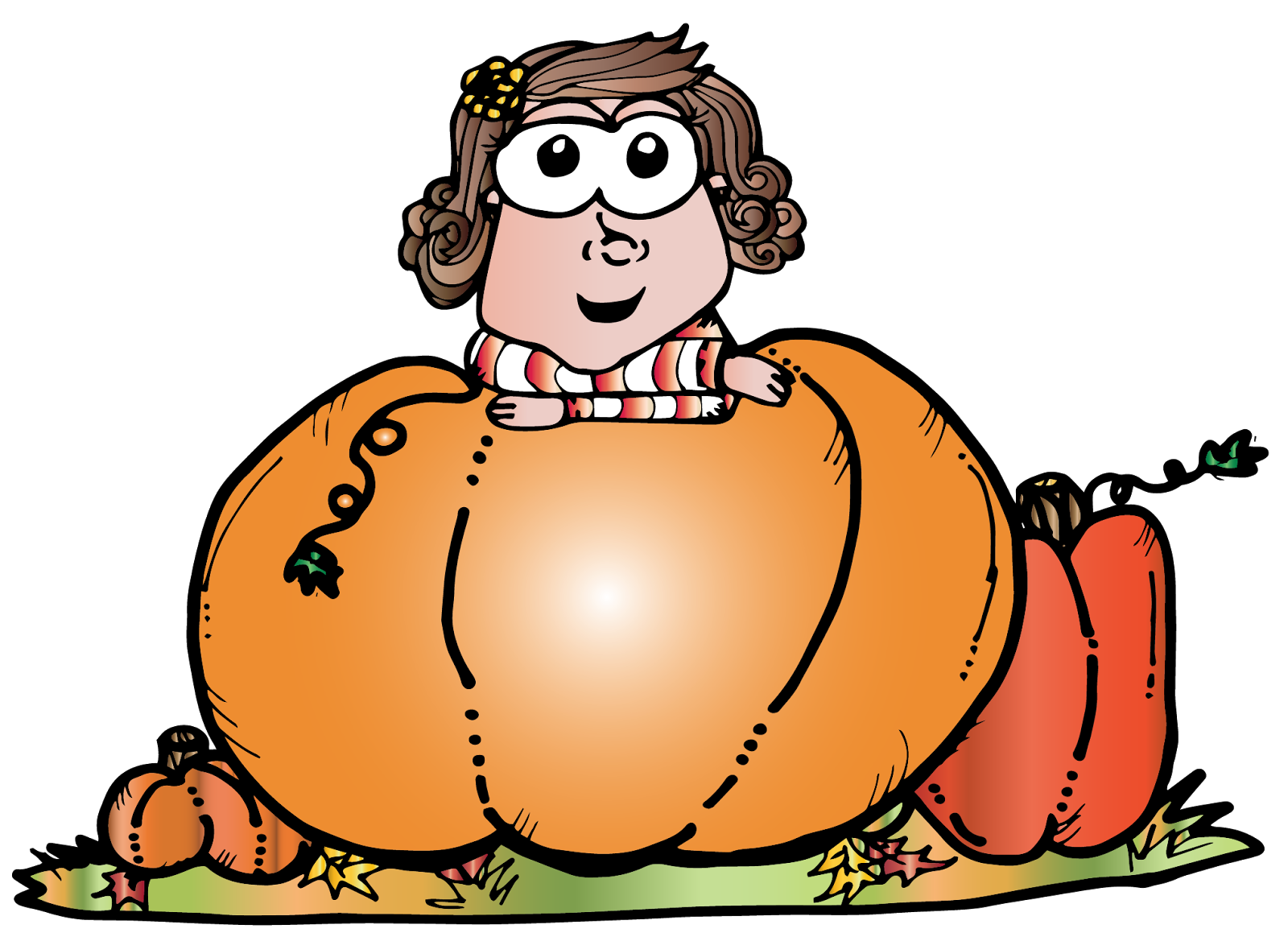 Blackline pumpkin clipart png freeuse library FREE Halloween Clipart. High resolution (300dpi) illustrations in ... png freeuse library