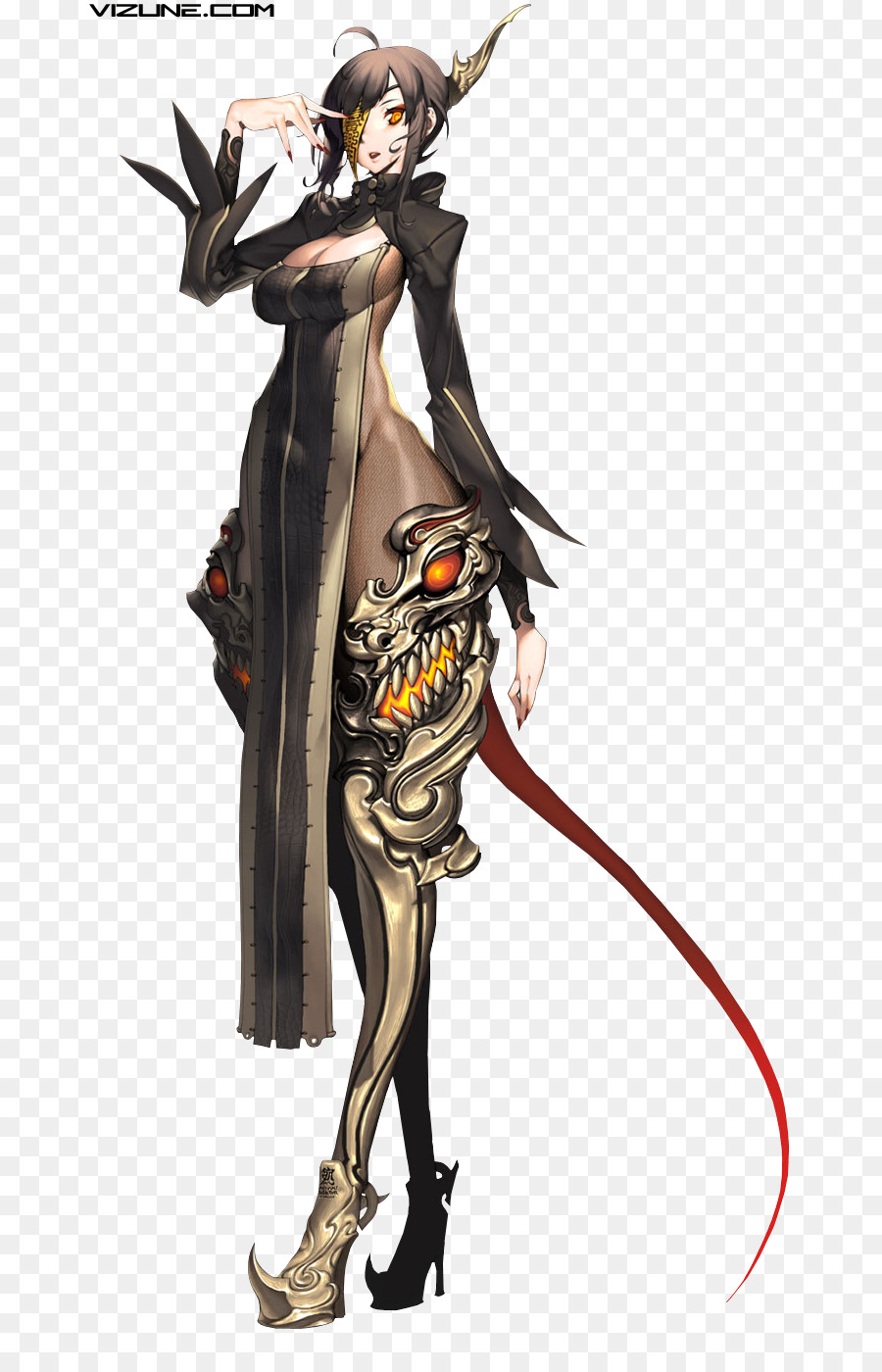 Blade and soul clipart clipart download Painting Cartoon png download - 742*1400 - Free Transparent Blade ... clipart download